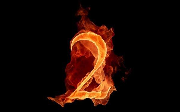 Огненная цифра 2
