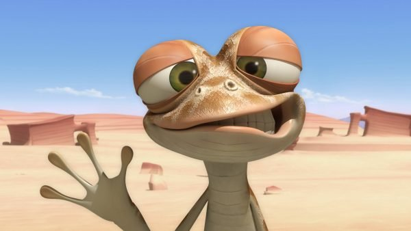 Персонаж Оскар из мультфильма «Оазис Оскара»