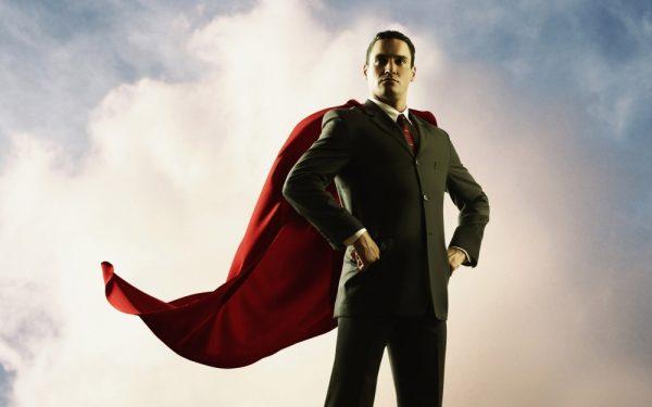 Мужчина-супермен