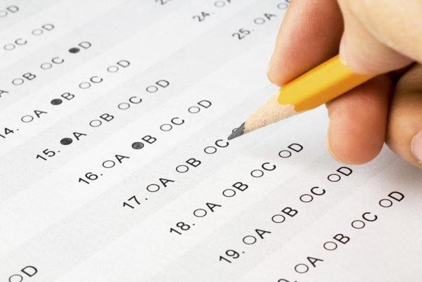 Школьный тест