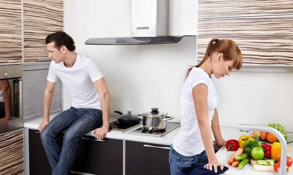 Супруги поссорились