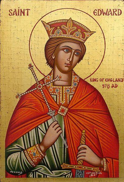 Св. Эдуард — король-страстотерпец