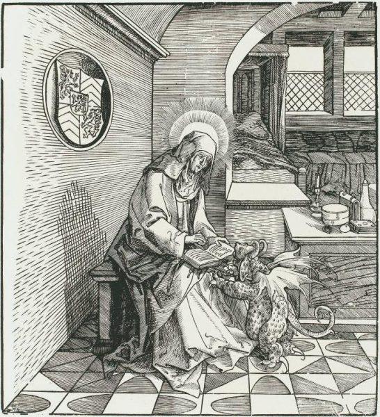 Святая Амальберга (Мобёжская)