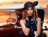 девушка модель азалия