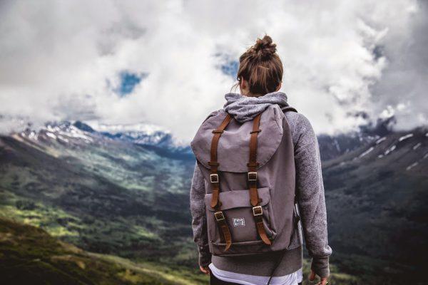 Девушка в путешествии