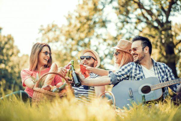 Друзья на пикнике