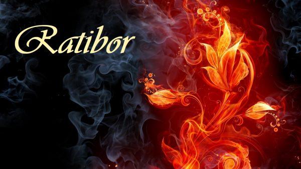 Надпись Ratibor