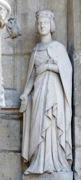 Памятник святой Изабелле Французской