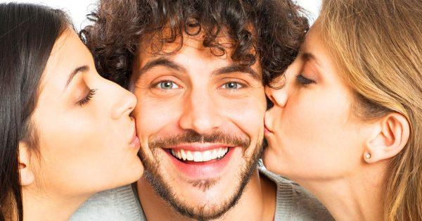 Мужчина и две женщины