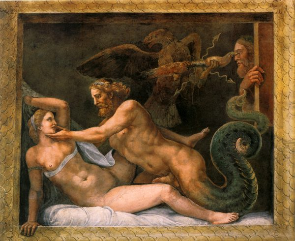 Соблазнение Олимпиады Зевсом