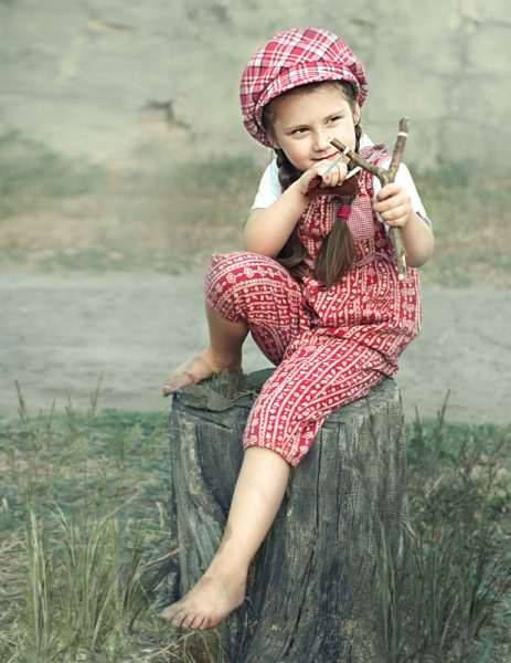 Девочка-хулиганка