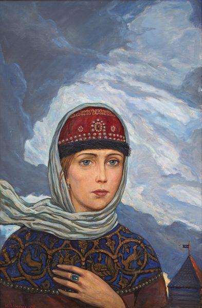 Картина Глазунова «Ярославна»